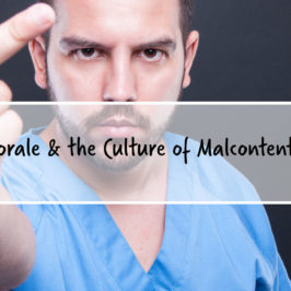 Morale and The Culture of Malcontent